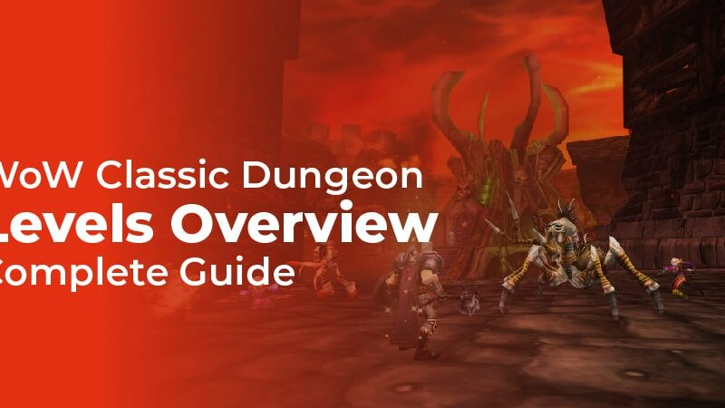 Classic Wow Dungeon Leveling Guide