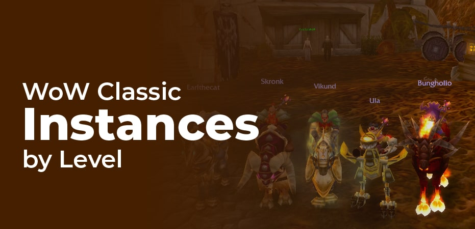 Classic Wow Dungeon Levels