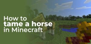 How To Tame A Horse In Minecraft 1.14