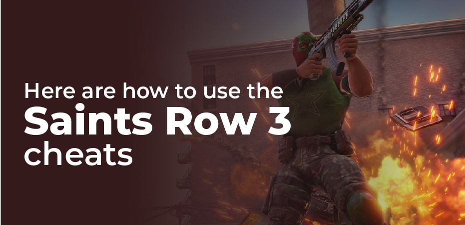 Saints Row 3 Cheats Codes Ps3